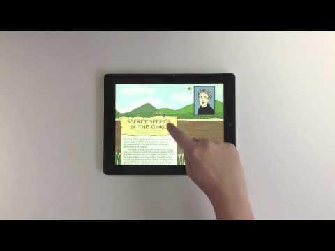 """Symbolia Magazine"" Illustrative Journalism: Mobile Tablet App l Mag+"