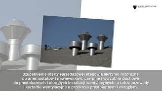 Wyroby wentylacyjne cokoły dachowe okapy przemysłowe Głębowice Wentylacja-Pawlica