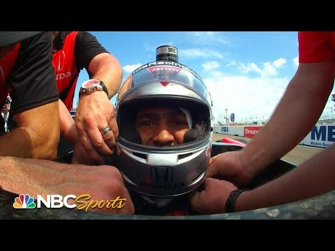 Crystal - WATCH:  Dungy Gives IndyCar Driver Command And Gets Ride Around With Mario