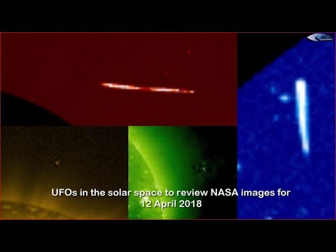 nouvel ordre mondial | UFOs in the solar space to review NASA images for April 12, 2018
