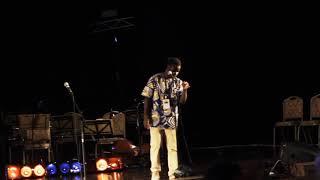 Julius Jules Banda performing C.H.I.L.D at BICC