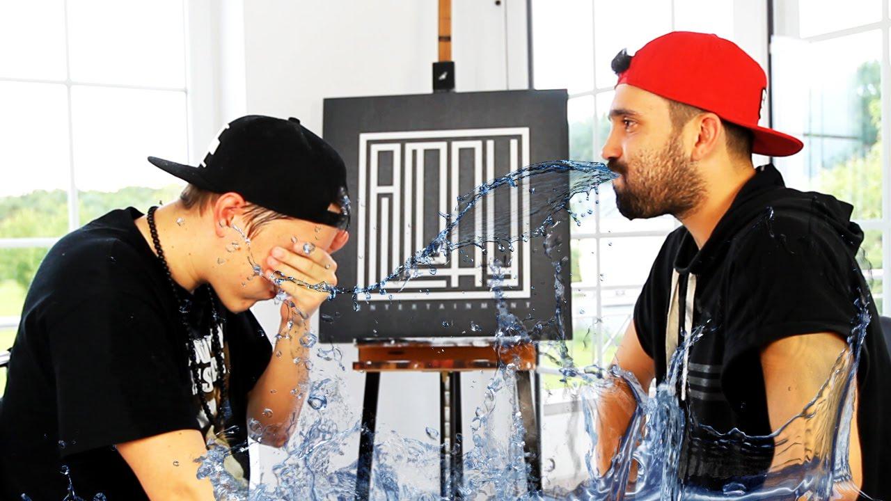 Wasser im mund witze Mund