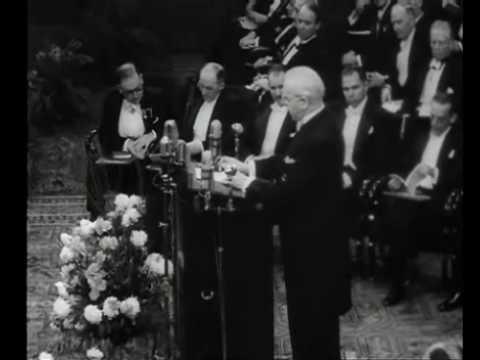 Pär Lagerkvist får Nobelpriset 1951