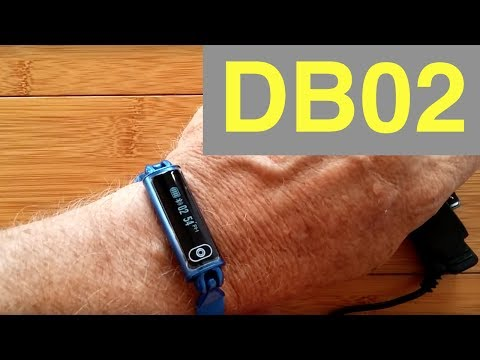 DB02 HEART RATE RECOVERY TIME Smart bracelet: Unboxing & Review