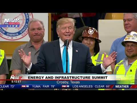 FULL SPEECH: President Trump - Crosby, Texas