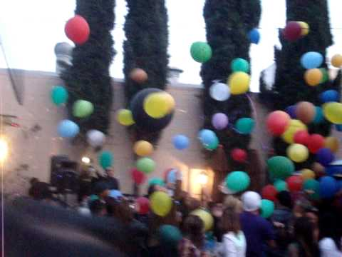 B4twelve Palo Alto Night Club BOSS Balloon Drop