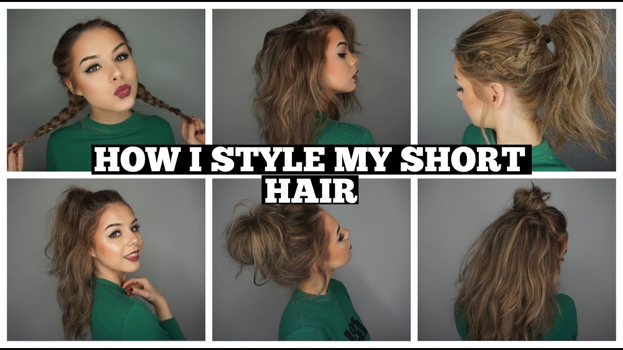 how to style shoulder length hair how i style my hair bob 1055 | maxresdefault