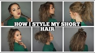 One of Jordan Lipscombe's most viewed videos: How I Style My Short Hair | Long Bob