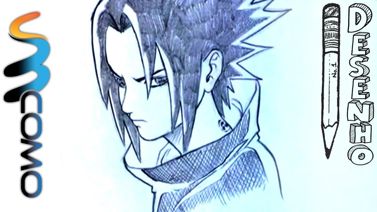 Desenhando Sasuke Uchiha Passo A Passo Youtube