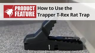 Trapper T-Rex Rat Trap Review