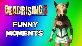 Dead Rising 3 Funny Moments Gameplay 6 - Beer Keg, Epic Walk, Mission Fail, Ultimate Shout, Scream!