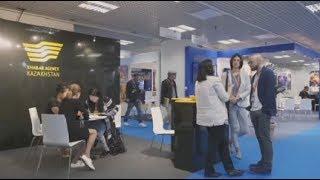 Агентство «Хабар» представило свои проекты на выставке в Каннах