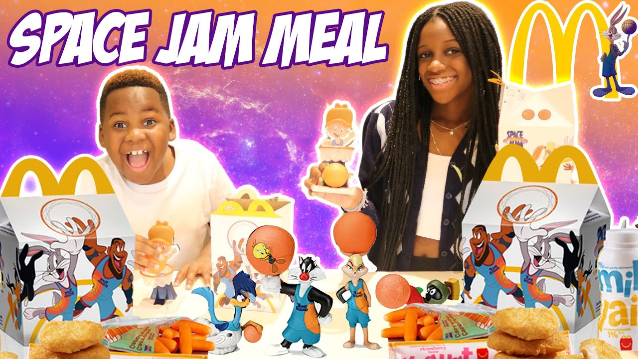 Trying The New Space Jam Meal At Mcdonalds