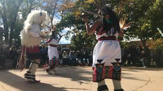Indigenous Peoples Day Celebration 2017 - Laguna and Hopi Buffalo Dancers Clip 9
