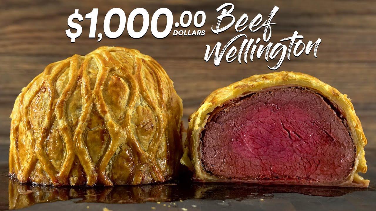 The $1,000.00 Beef Wellington!