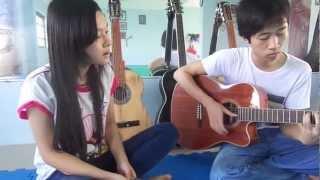 Chờ người nơi ấy acoustic - Tony Việt ft Cơn gió