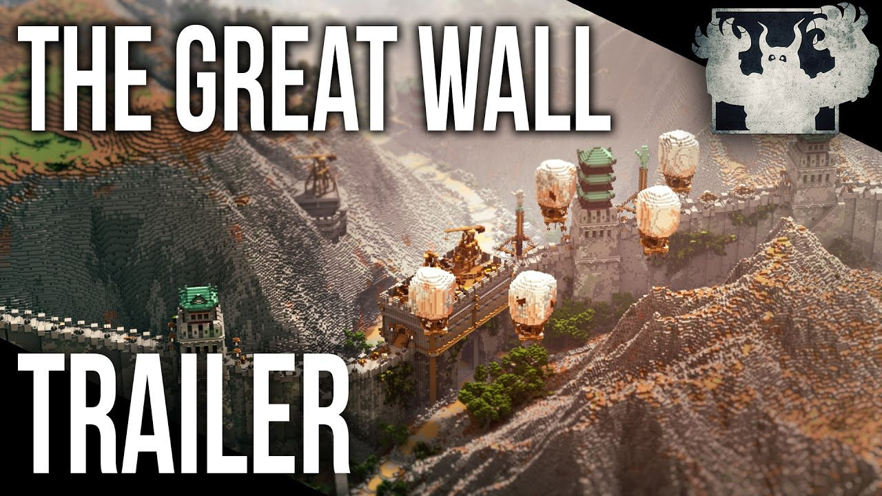 The Great Wall in Minecraft Map  Trailer   FREE DOWNLOAD  YouTube