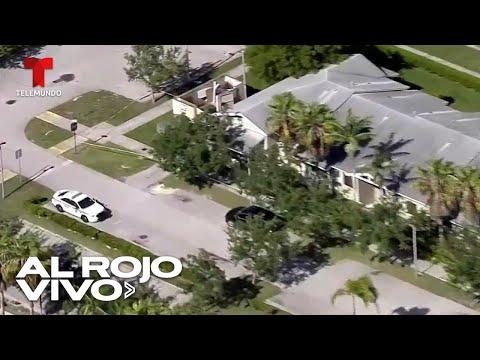 Tiroteo deja al menos tres personas fallecidas en una vivienda en Florida