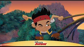 Jake og Piraterne Top 10: Jakes modigste øjeblikke – Disney Junior Danmark
