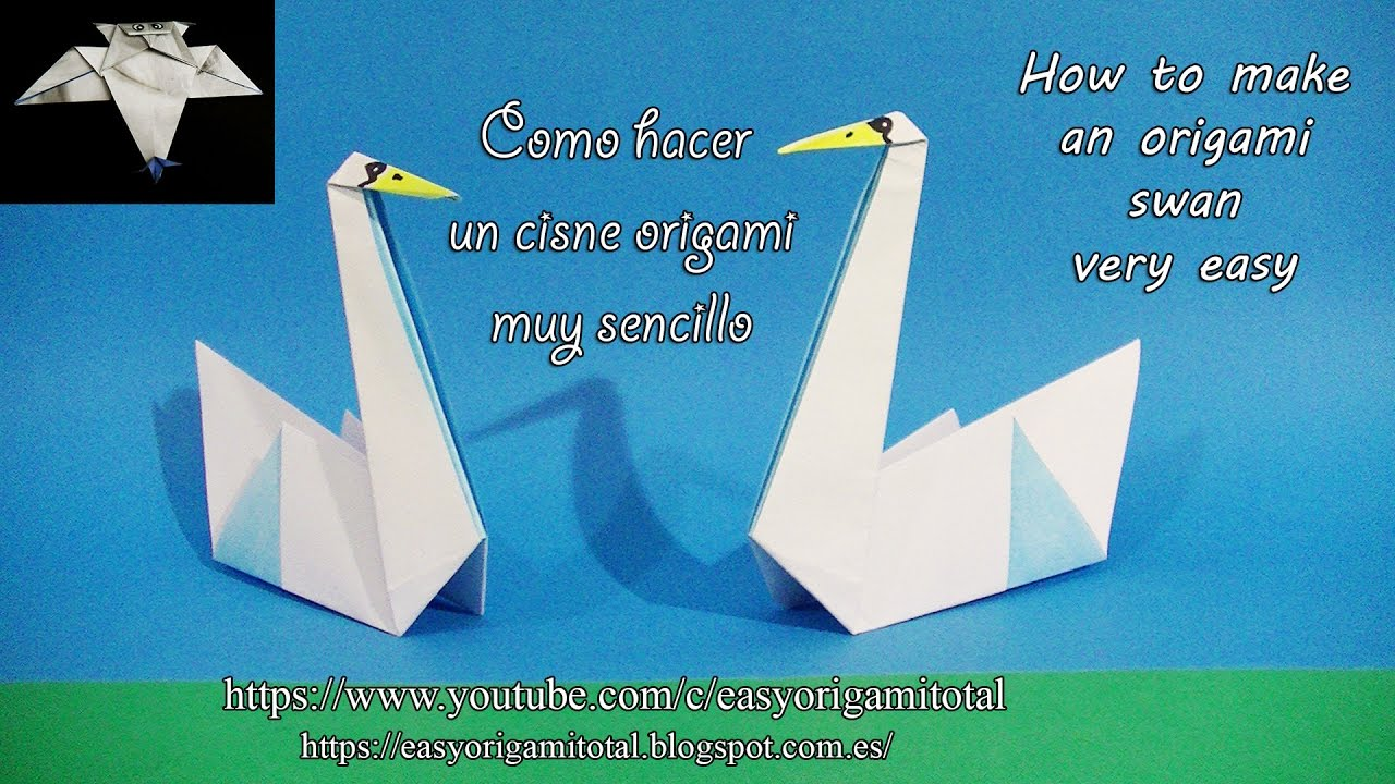 Origami Paper - Blue Crane with Flapping Wings - YouTube | 720x1280