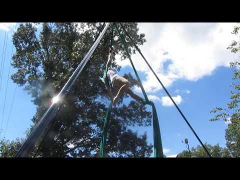 Lindsey Stirlings Hallelujah on Aerial Silks