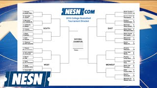 2016 NCAA Tournament Bracket Released; Michigan State Not A No. 1