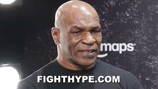 "MIKE TYSON FINAL WORDS FOR ROY JONES JR.: ""JUST GONNA GO RIGHT AT HIM...DON'T KNOW HOW TO GO EASY"""