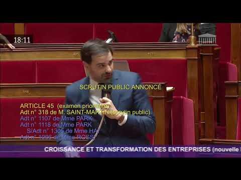 Intervention 2 du député Laurent Saint-Martin sur l'amendement n°318 sur les nuisances aériennes