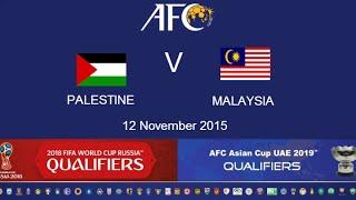 Palestine vs Malaysia full match