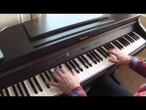 Rather be -(piano cover),  original key