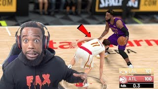 Last Second Thriller! I BROKE Trae Young's ANKLES! Lakers vs Hawks NBA 2K19 Mycareer Ep 79