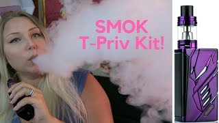Smoktech T-Priv 220W Kit! | TiaVapes Review