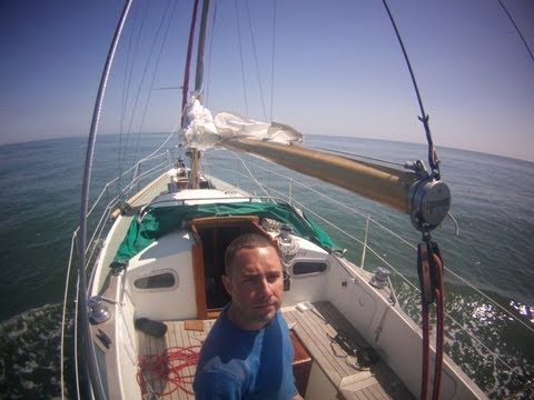 Veho Muvi HD 10 Sailing Trip UK Ramsgate and France Gravelines