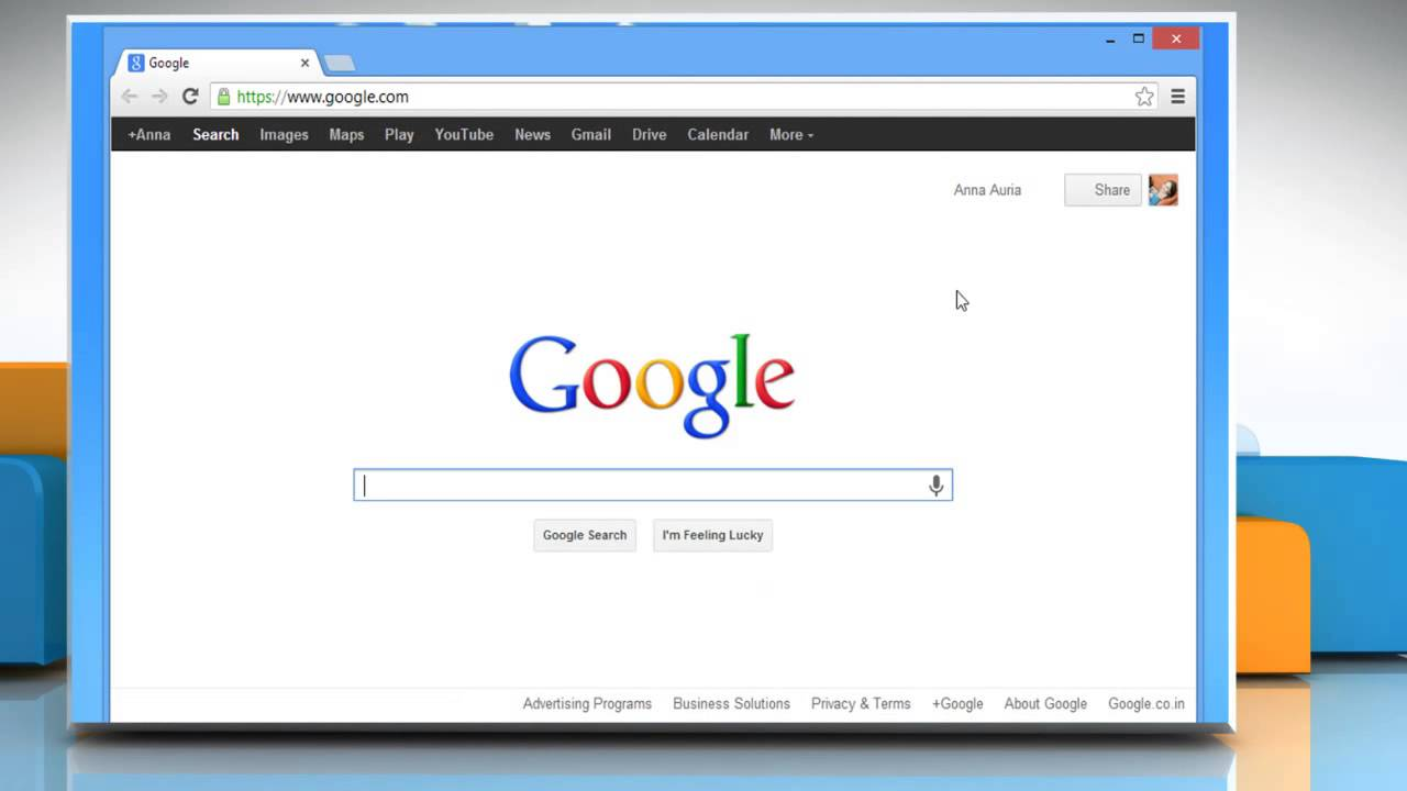 toolbar google chrome