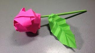 Роза оригами. Оригами из бумаги роза схема. Rose origami. Origami scheme how to make rose.(Роза оригами. Сделать оригами из бумаги роза, Вариант 2. Видео схема как сделать оригами цветок роза из бума..., 2014-11-23T14:29:41.000Z)