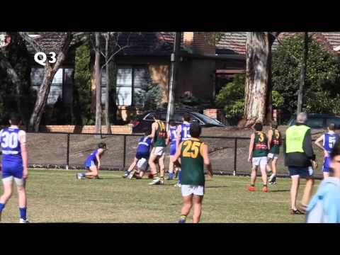 East Malvern U15 Div 1 v Hampton - 10 August 2014