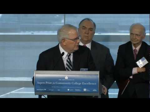 Announcing the Winner of the 2013 Aspen Prize for Community College Excellence