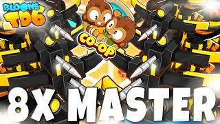 COOP | 8x CROSSBOW MASTER | Bloons TD6 PL