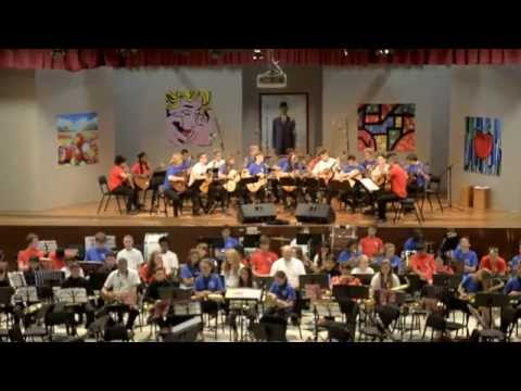 Orquesta HARINGEY YOUNG MUSICIANS en concierto 2015. Part  2