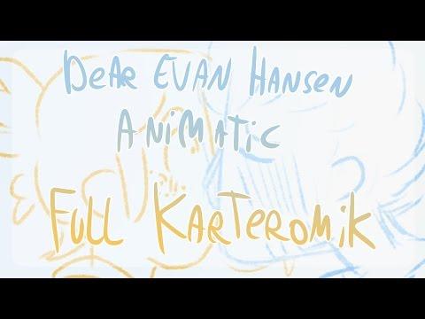 """Animatic: """"If I could tell her"""" (dear evan hansen/Karteromik)"""
