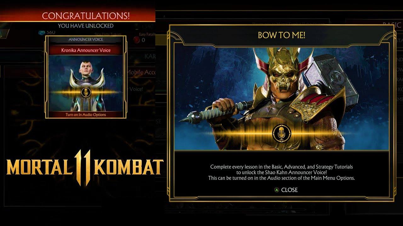 unlock shao kahn mk11