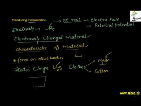 Introduction to Electrostatics