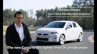 2020 Chassis development  Next generation Opel Corsa gets ready