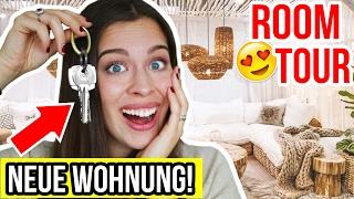 ROOMTOUR 😍 MEINE NEUE EIGENE & LEERE WOHNUNG!! | 2017