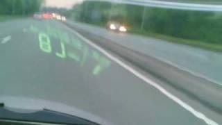 Speed Test on Hyosung GT125R (2)