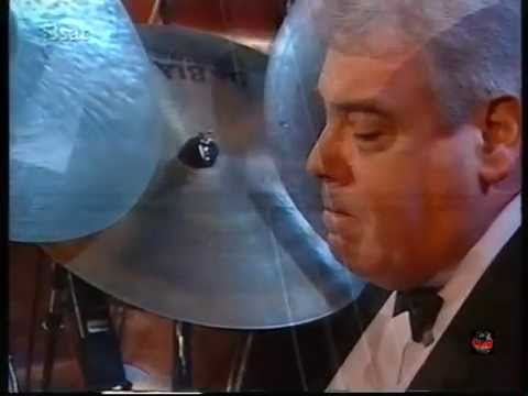Gene Harris Quartet with Jim Mullen - Sweet Georgia Brown (1996 live video)