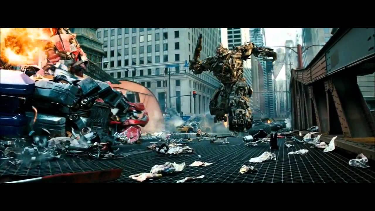 Transformers 3 Fight Scene Optimus Vs Sentinel Youtube