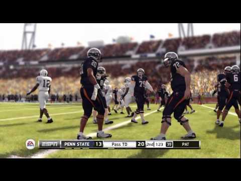 NCAA Football 2013: Penn State vs Virginia Cavaliers - HD