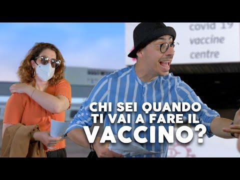 Chi sei quando ti vai a fare il vaccino - iSoldiSpicci