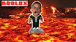 THE FLOOR IS LAVA + GIANT BOSS - Playonyx Roblox